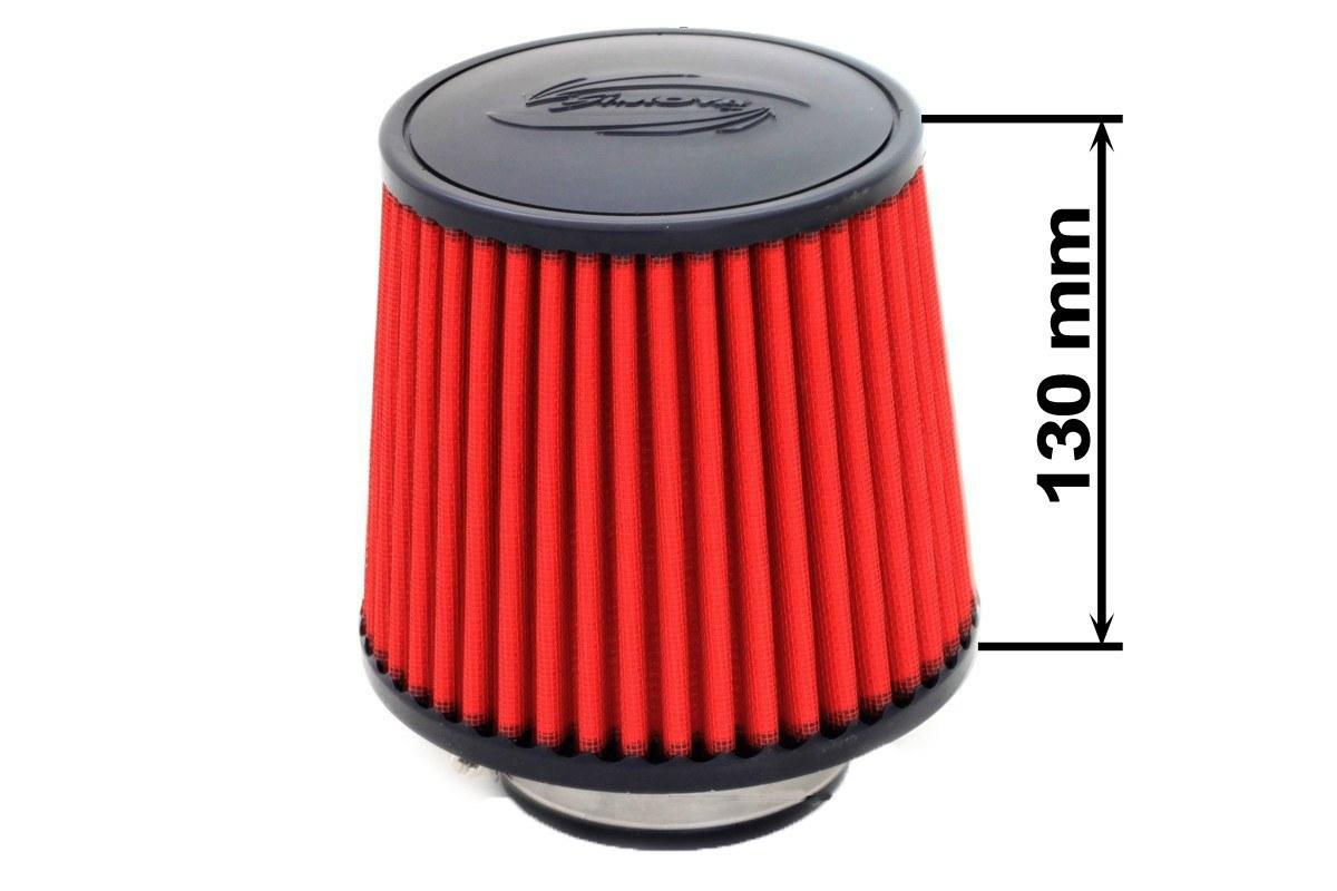 Filtr stożkowy SIMOTA JAU-X02101-05 60-77mm Red - GRUBYGARAGE - Sklep Tuningowy